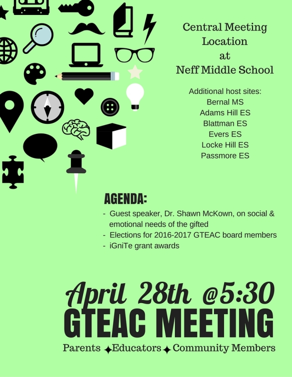 GTEAC Meeting