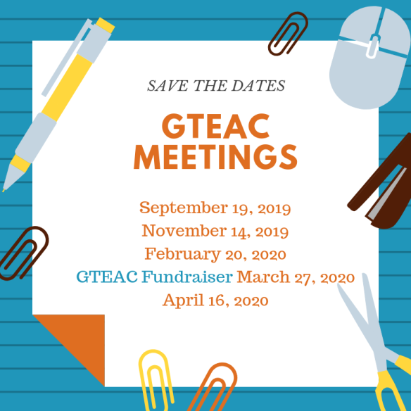 2019 GTEAC Meetings